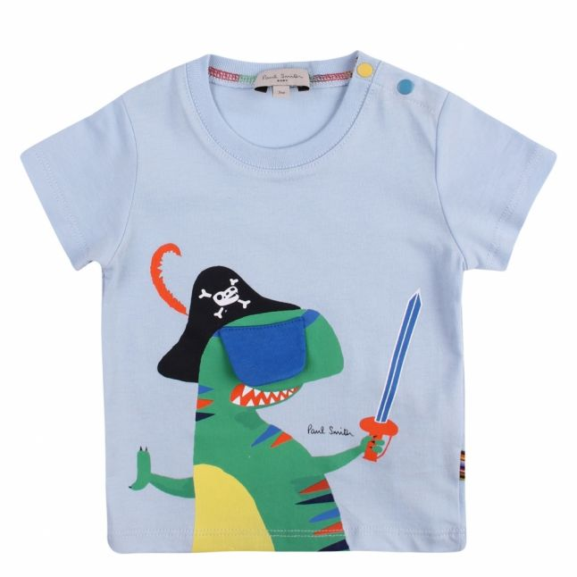 Baby Light Blue Aldo Pirate S/s T Shirt