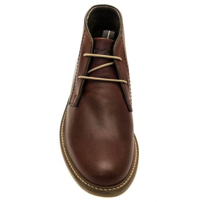 Mens Dark Brown Readhead Chukka Boots