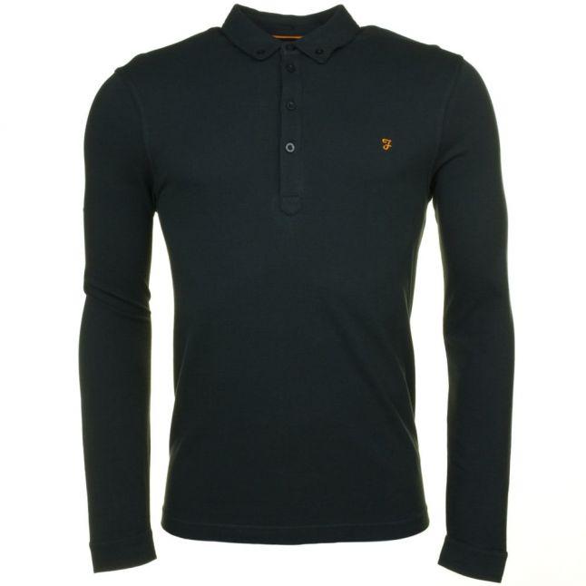Mens Ripe Avocado Merriweather L/s Polo Shirt