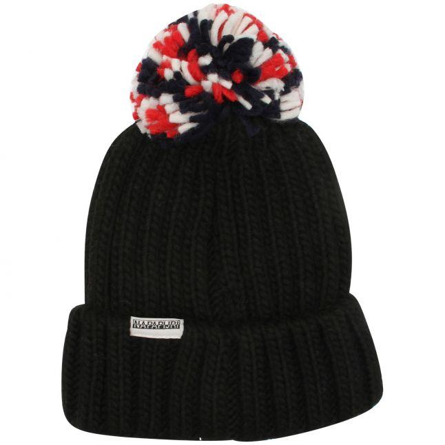 Kids Black Semiury 4 Bobble Hat