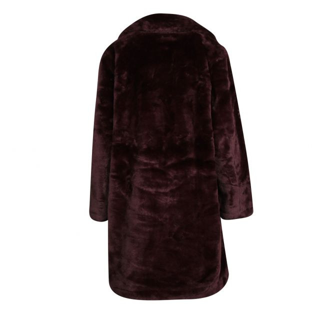 Womens Decadance PF Banna Fauz Fur Coat