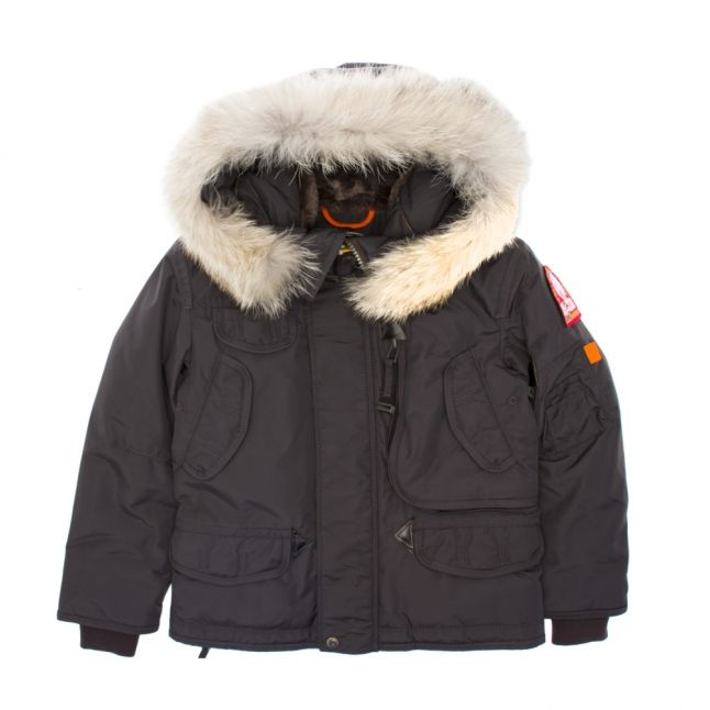 Boys Anthracite Right Hand Down Coat
