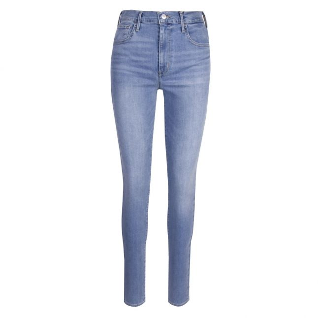 Womens Light Blue 720 High Rise Super Skinny Jeans