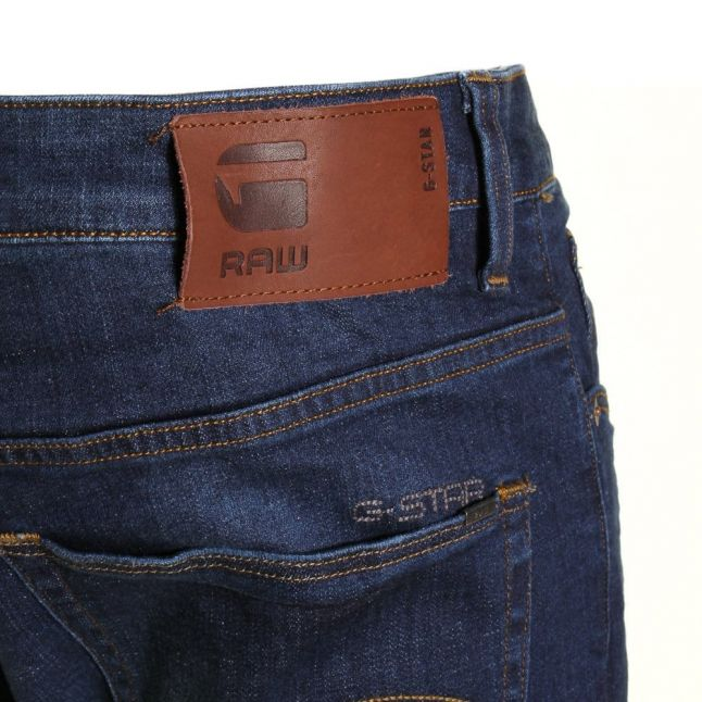 Mens Dark Aged Wash 3301 Slim Fit Jeans