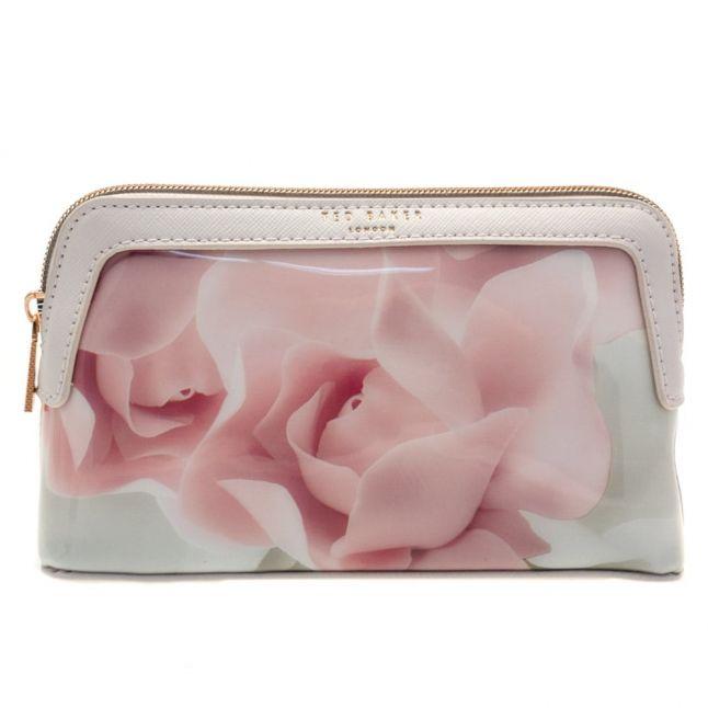 Womens Nude Pink Amallia Porcelain Rose Make Up Bag