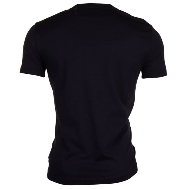 Mens Black Train Visibility S/s Tee Shirt
