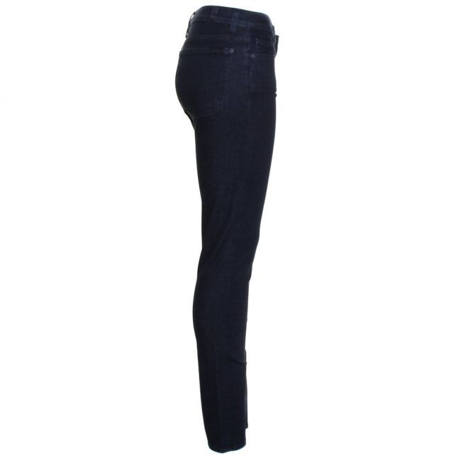 Womens Boston Deep Wash The Skinny High Waisted Jeans