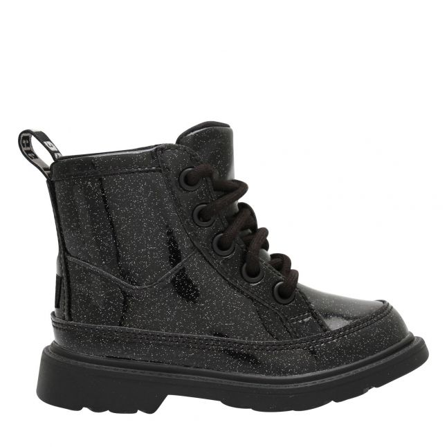 Toddler Black Robley Glitter Boots (5-11)