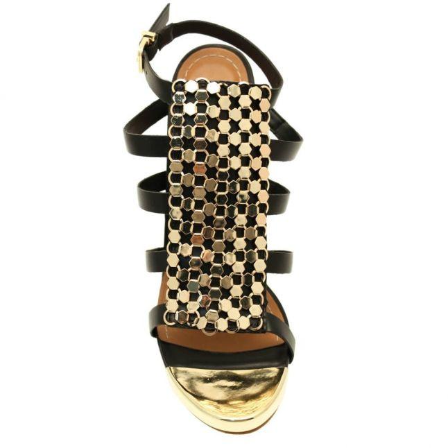 Womens Black Rainey Sandals
