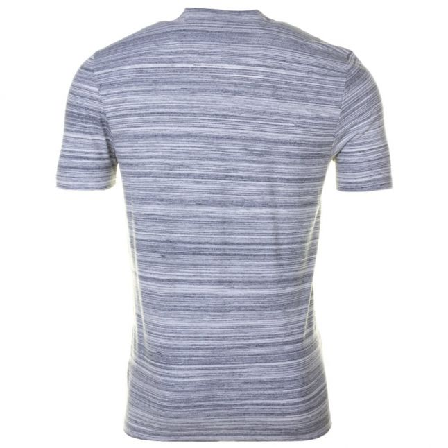 Mens Mid Grey Marl Space Dyed S/s Tee Shirt