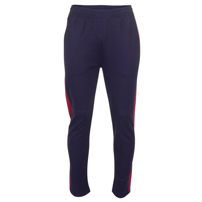 Mens Navy Contrast Panel Track Pants