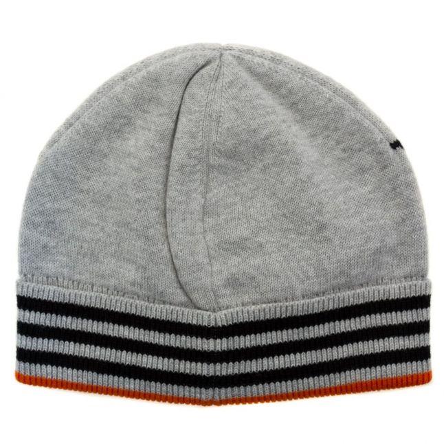 Boys Black Branded Knitted Hat