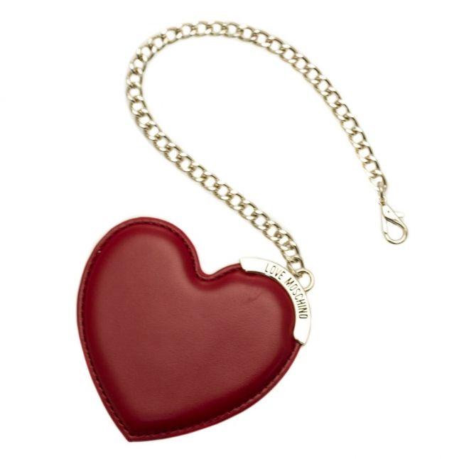 Womens Black Heart & Chain Tote Bag