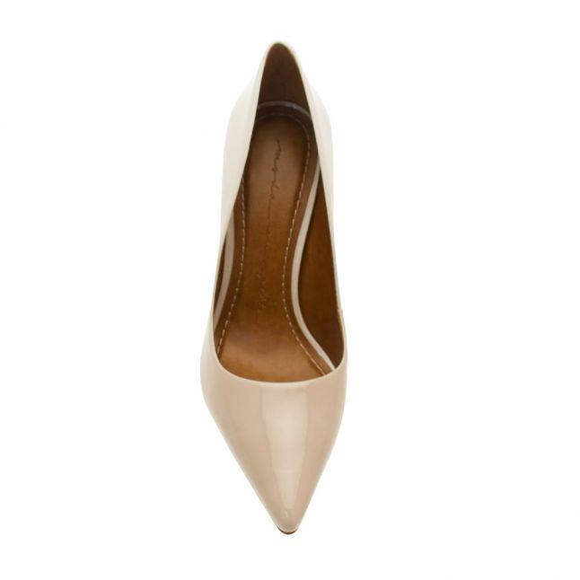 Womens Cristina Light Nude Womens Two Tone Heeled Shoes