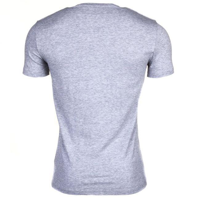 Mens Medium Grey Melange Silver Label Shield S/s Tee Shirt
