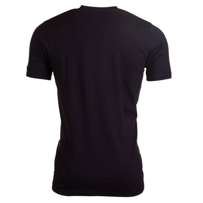 Mens Black Tete 2 S/s Tee Shirt