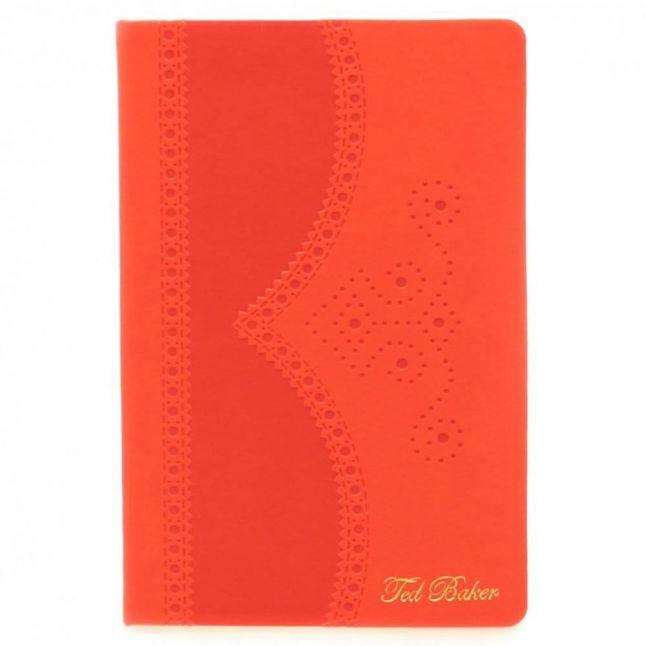 Deep Orange A5 Medium Brogue Notebook