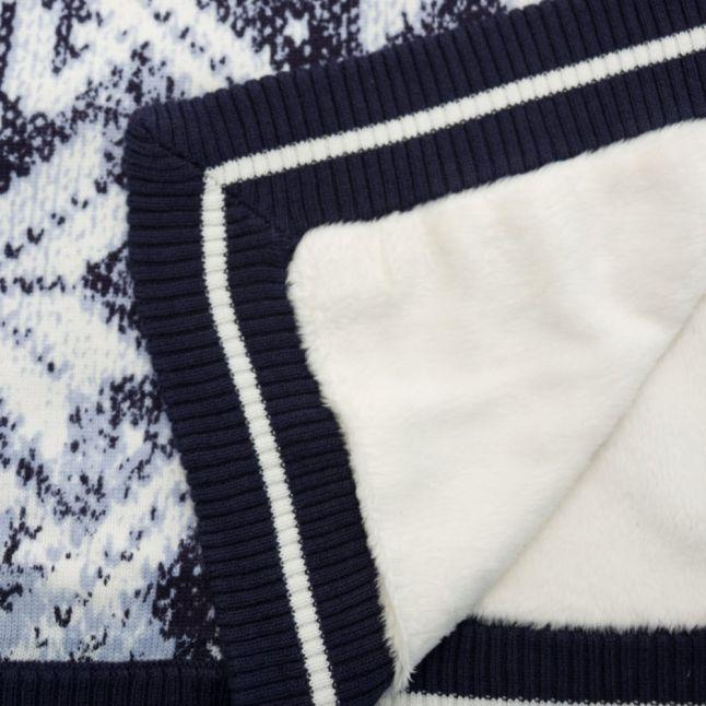 Baby Navy Branded Blanket