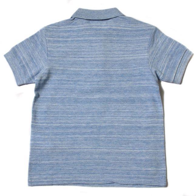 Boys Aviator Marl Stripe S/s Polo Shirt