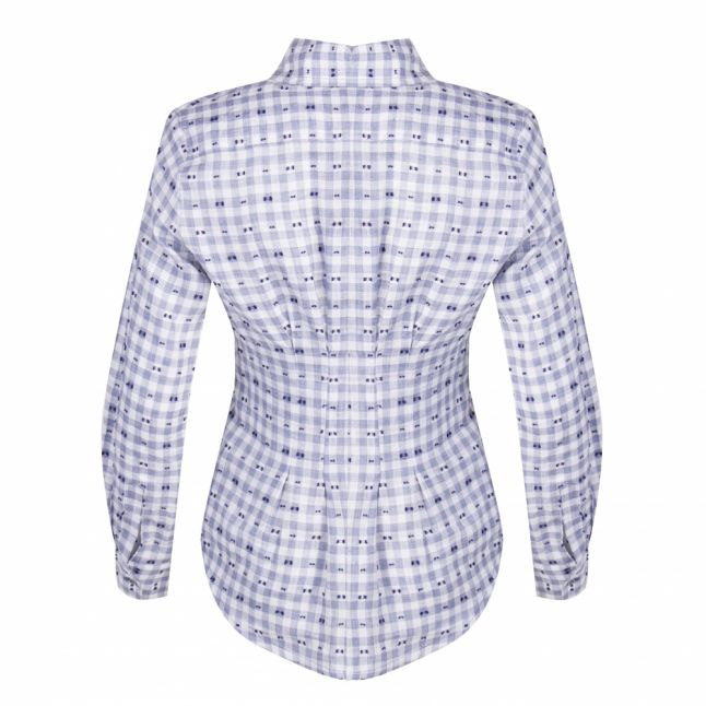 Anglomania Womens Blue Check Ringstead Shirt