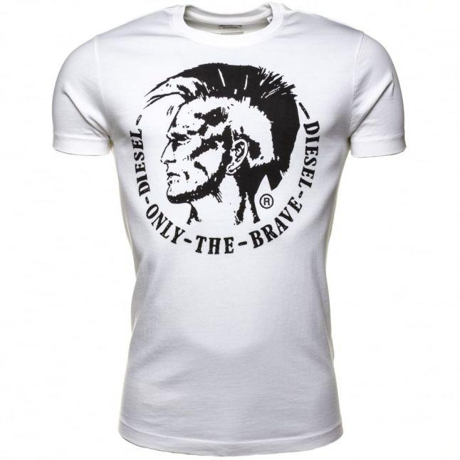 Mens White T-Ulyesse S/s Tee Shirt