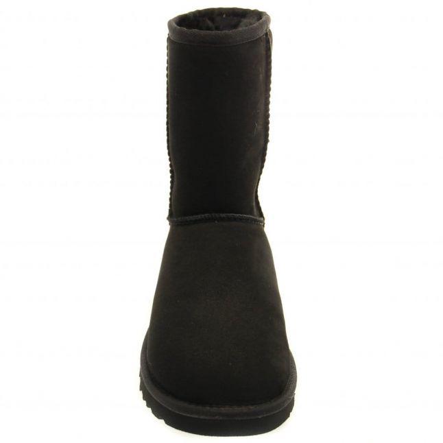 Womens Black Classic Short Boots