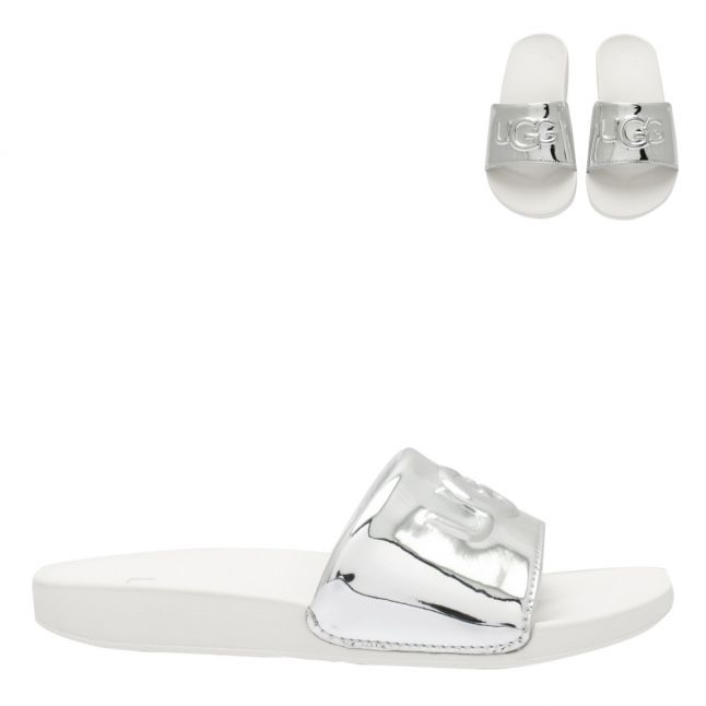 Kids Silver Graphic Logo Slides (12-5)