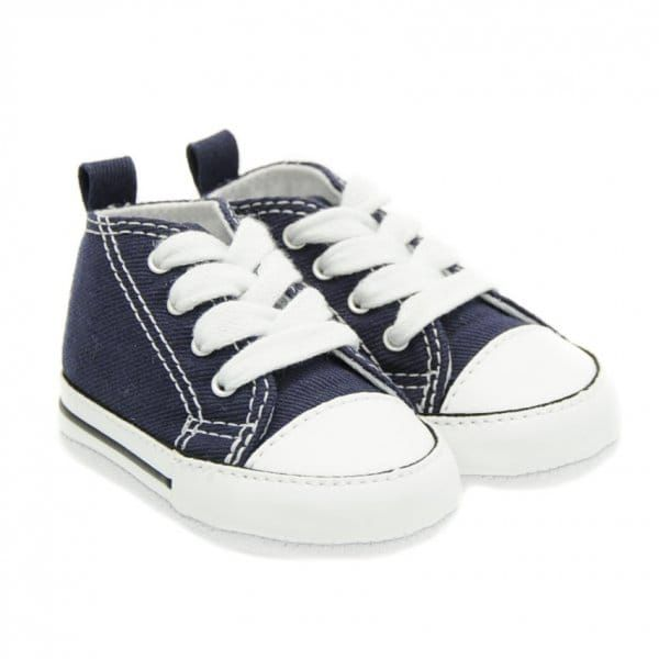 Baby Navy Chuck Taylor First Star (1-3)