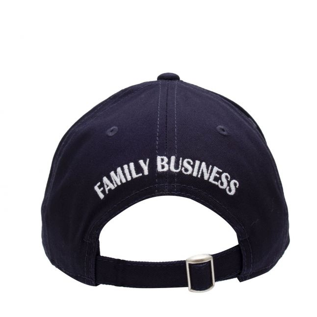 Boys Navy Branded Patch Cap