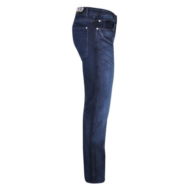 Mens Dark Blue 708 Slim Fit Jeans