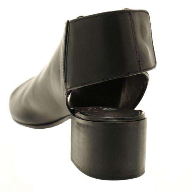 H By Hudson Womens Black Iris Sling Back Sandals