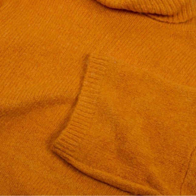 Womens Golden Oak Vipapo Rollneck Knitted Top