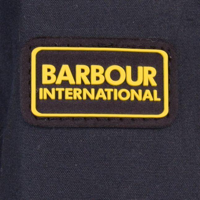 Womes Navy Huggers Wax Jacket