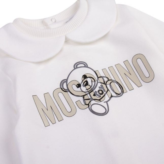 Baby Cloud Silver Toy Babygrow