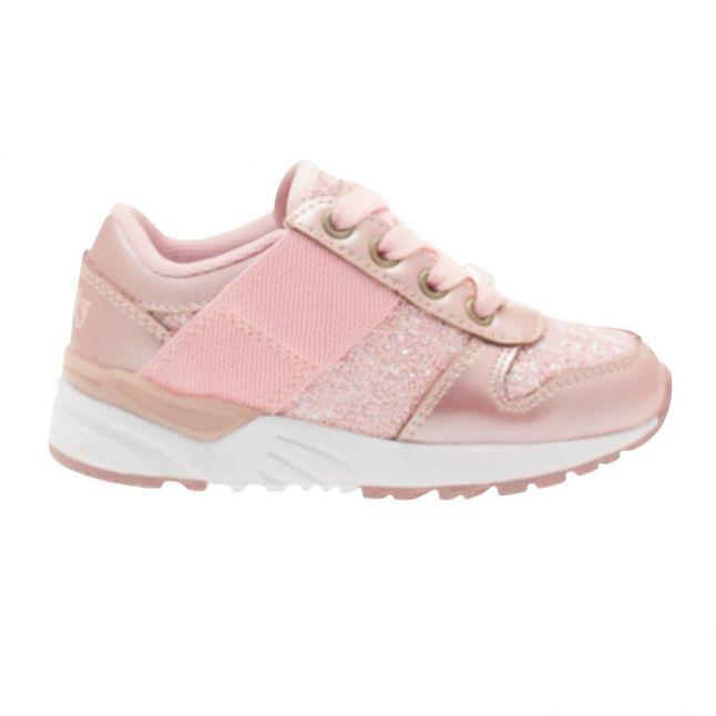 Girls Rosa Vernice Glitter Shoe (26-35)
