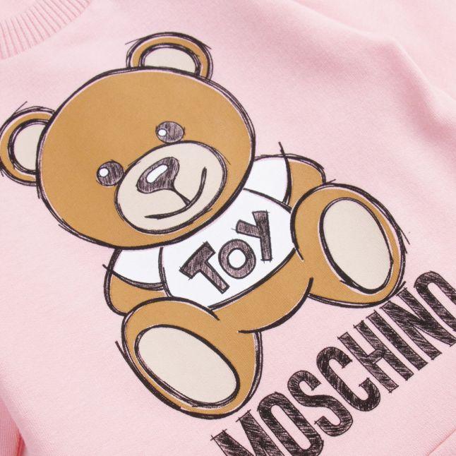 Moschino Baby Sugar Rose Toy Dress