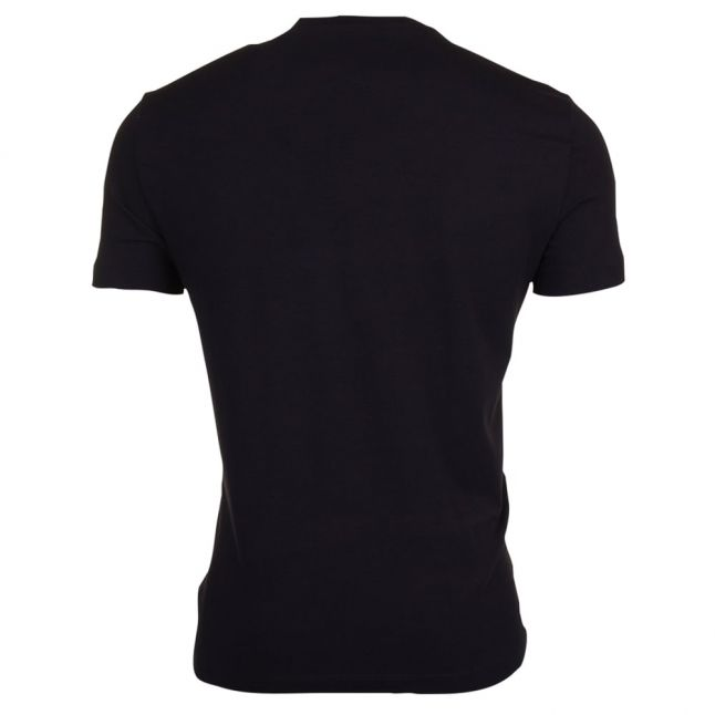 Mens Black Train S/s Tee Shirt