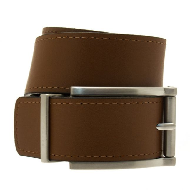 Mens Black & Brown Bream Reversible Belt