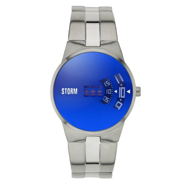 Mens Lazer Blue Dial New Remi Watch
