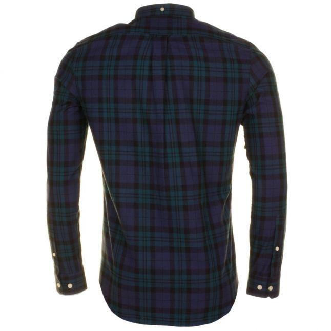 Mens Yale Helford Slim Check L/s Shirt
