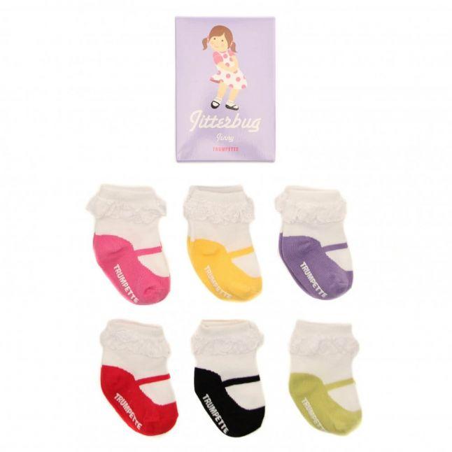 Baby Multi Jitterbug Socks (0-12)