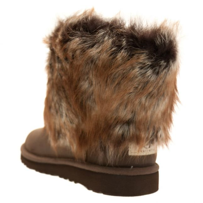 Kids Chocolate Ellee Leather Boots (9-5)