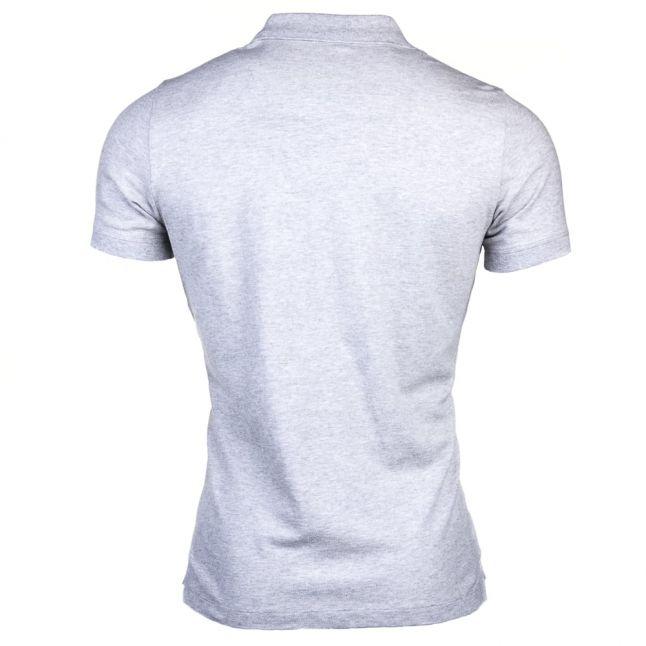 Mens Grey T-Heal S/s Polo Shirt