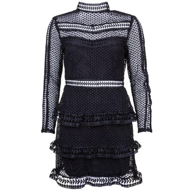 Womens Black Yasalberte Lace Dress