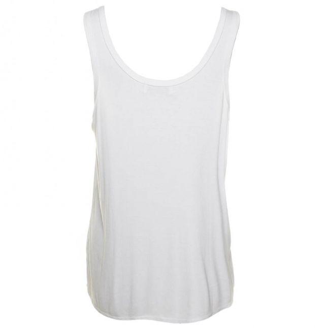 Womens Clean White Essentials Road Trip Tank Top