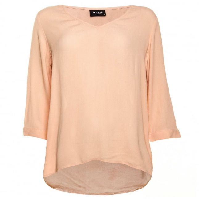 Womens Rugby Tan Vinilla Top