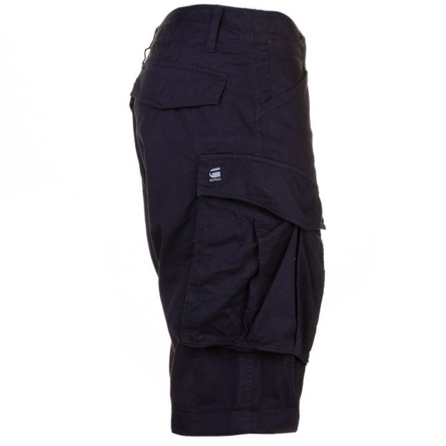 Mens Mazerine Blue Rovic Zip Shorts