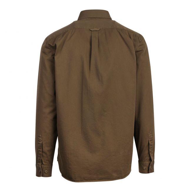 Mens Salvia Pitch Twill L/s Shirt