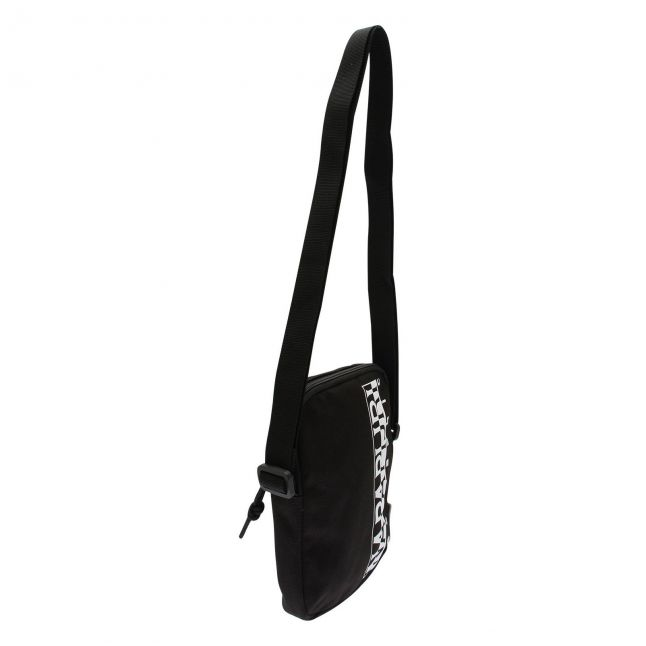 Mens Black Happy 2 Crossbody Bag