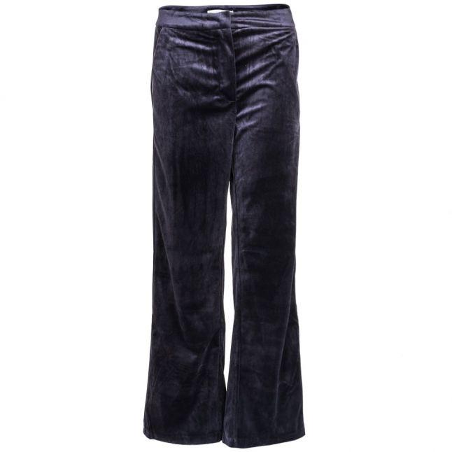 Womens Black Vitamiko Velvet Pants